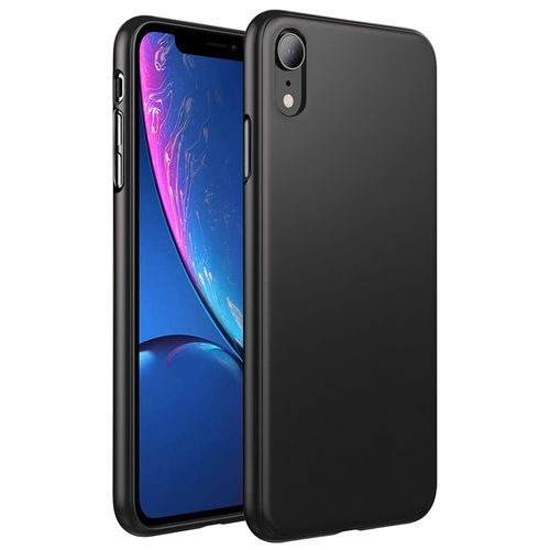Flexi Slim Stealth Case for Apple iPhone Xr - Black (Two-Tone)